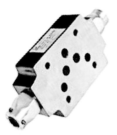 Гидродроссель с обратным вспомогательным клапаном ДКМ-10/3 МА